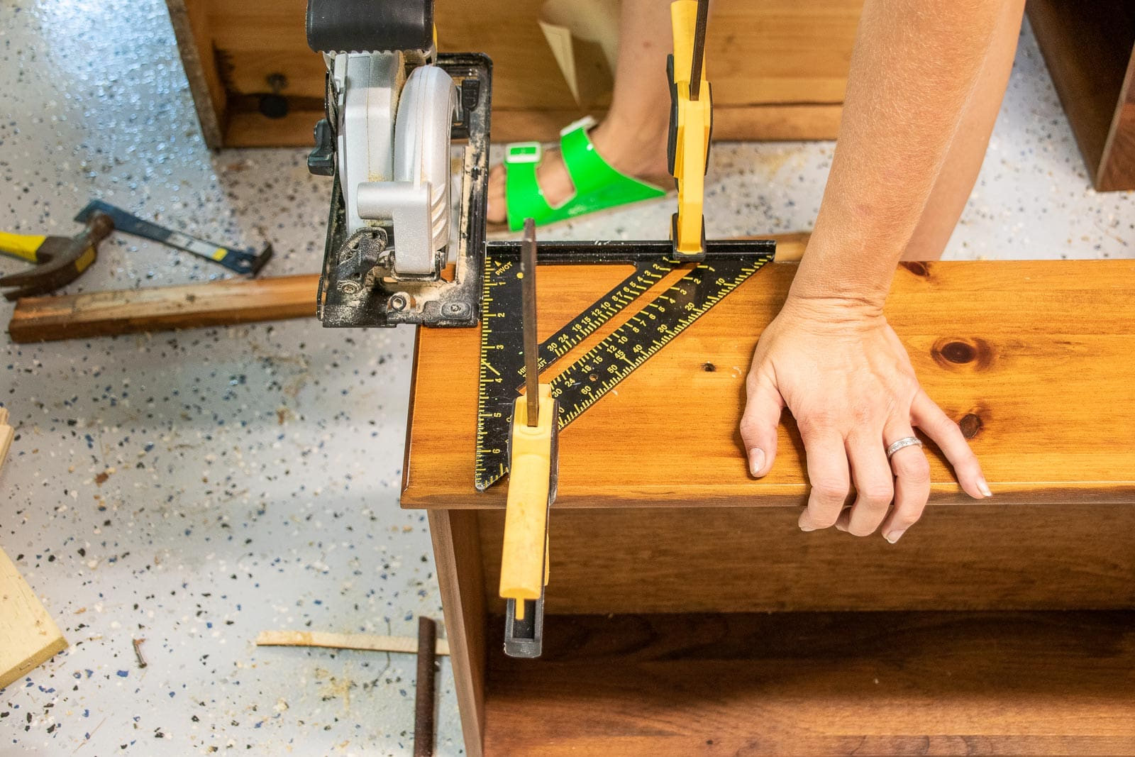 changing the cabinet drawer fronts