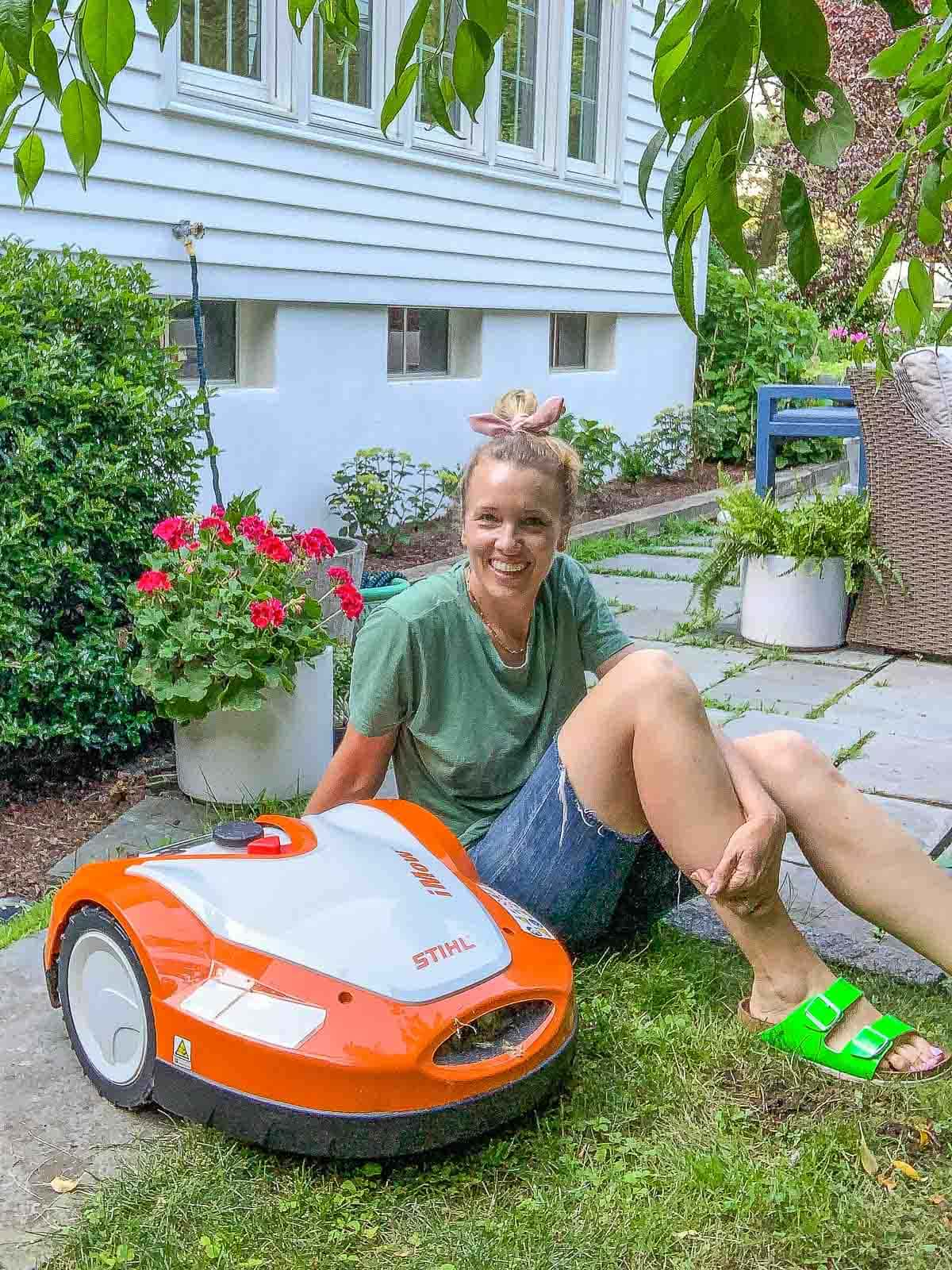 iMow robot lawn mower