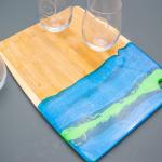 epoxy pour cheese board