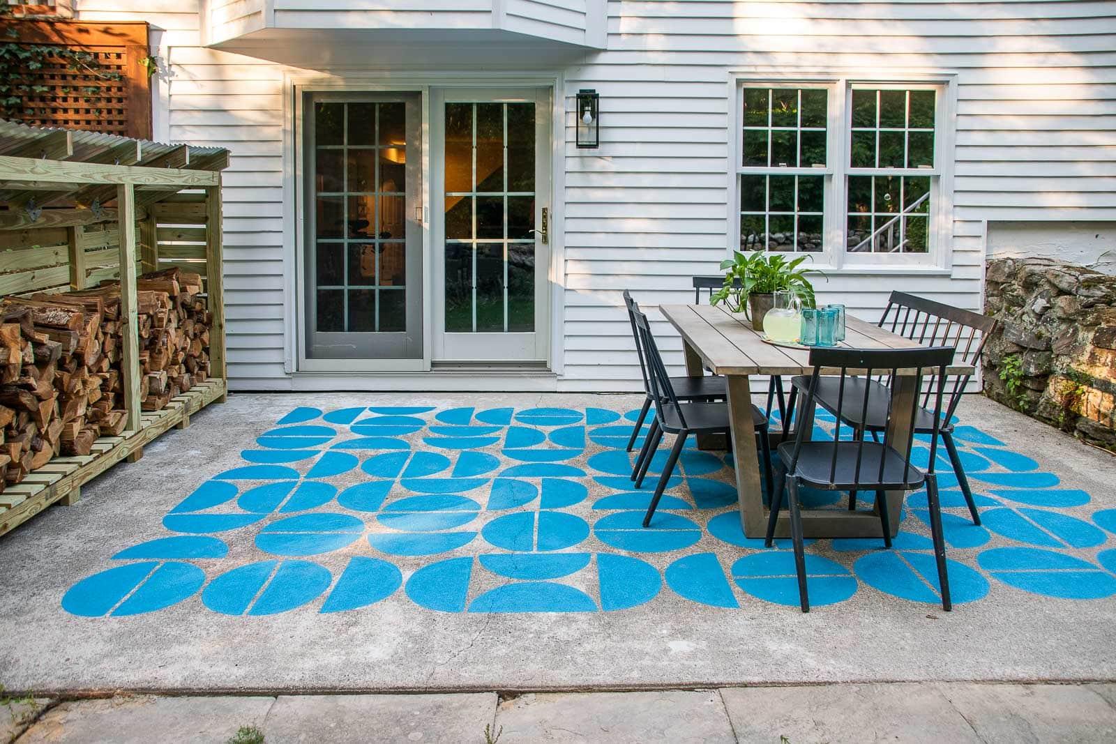 backyard patio update